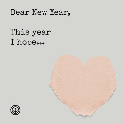Dear New Year: 2020 Social Post