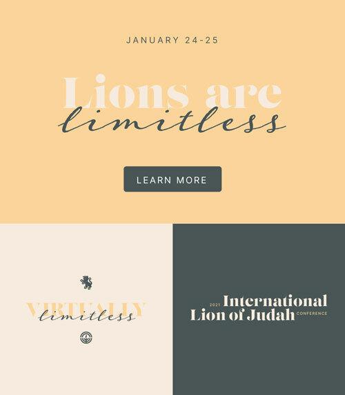 Lion of Judah: 2021 Web Banner