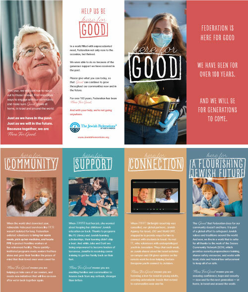 Here For Good: Brochure